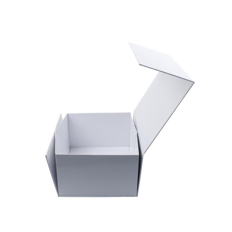 High quality glossy lamination shoes foldable cardboard boxes