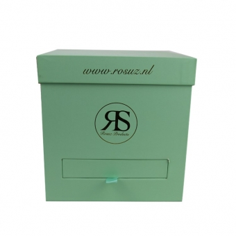Green Cardboard Boxes With Lids