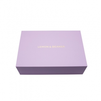 Purple luxury magnetic gift boxes