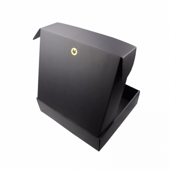 custom black shipping boxes