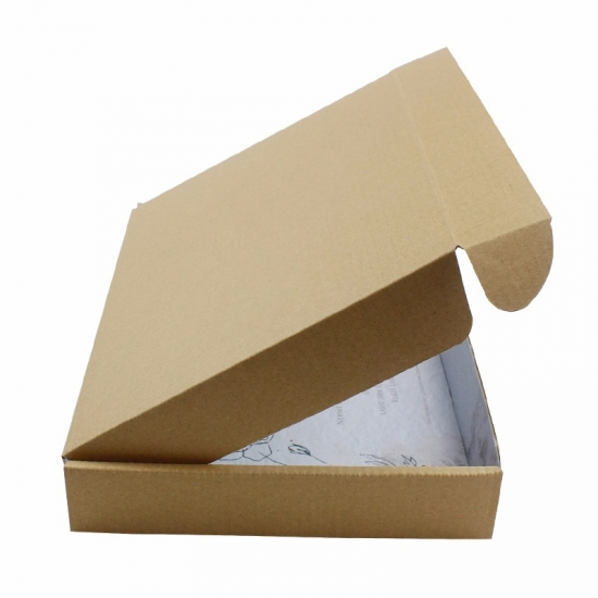 Brown  strong folded  high quality corrugated shipping boxes