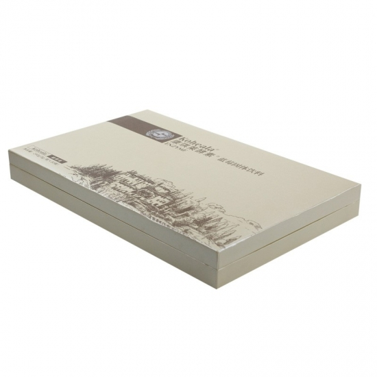 Pearl paper EVA foam clamshell book box