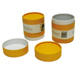 small rimmed cylinder gift packaging boxes with lids