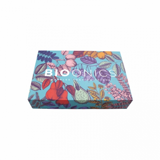 Full pattern printing magnetic paper box with EVA padding