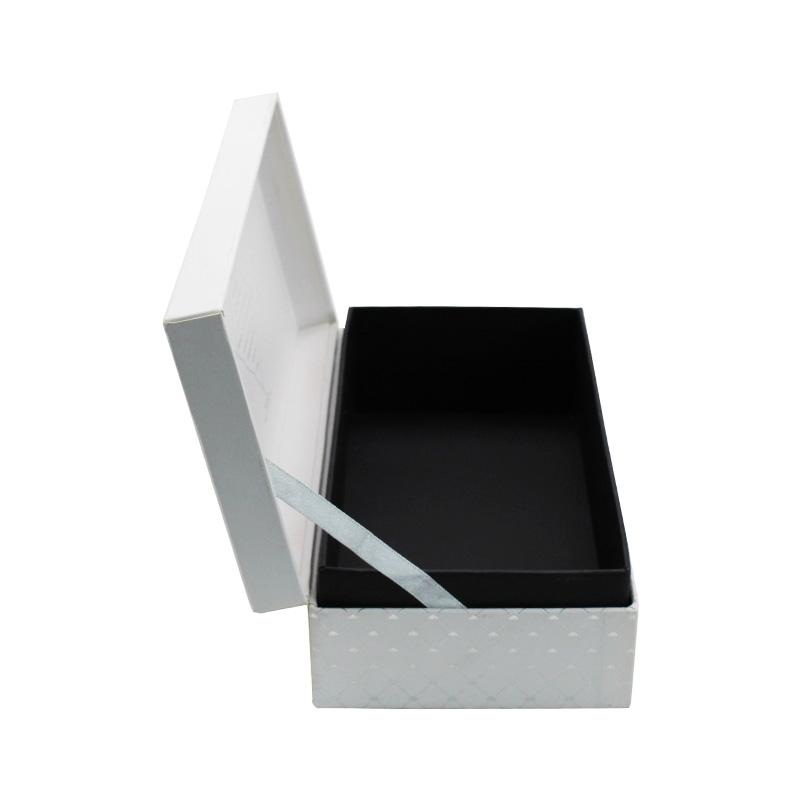 Hot Stamping Silver Cardboard Box
