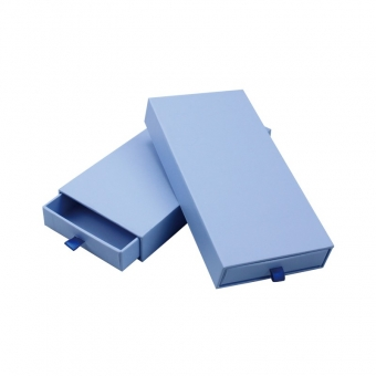 blue sliding box for jewelries