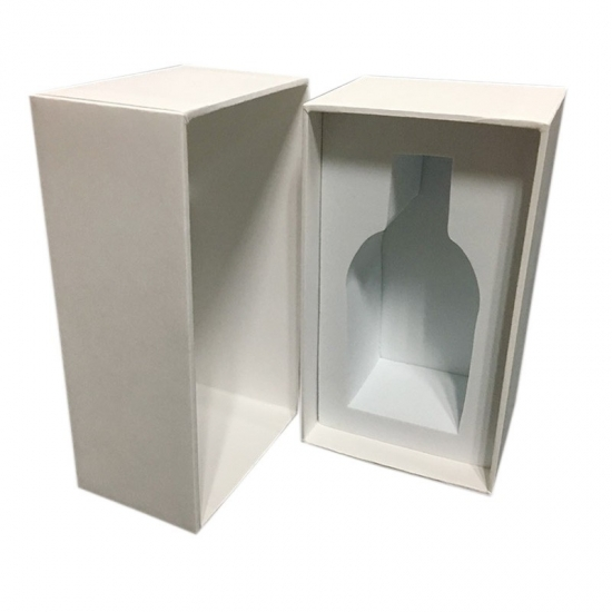 rectangular rigid presentation black lid and base boxes