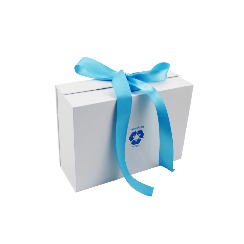 folding gift box With Ribbon